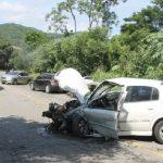 ACIDENTE – Acidente envolvendo seis carros na RJ-106 deixa nove feridos em Maricá