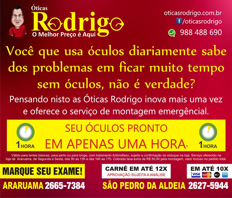 4f2c751d91629 ... ÓTICAS RODRIGO – Óculos para perto ou para longe com tratamento  antirreflexo pronto em 1 hora