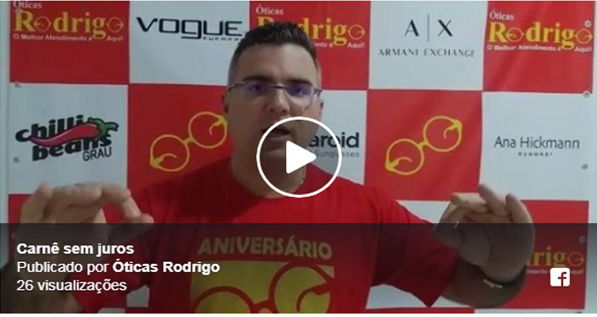 806496f4f9b1d ÓTICAS RODRIGO – Compre no carnê em até 3x SEM JUROS com PRIMEIRA PARCELA  PARA 30 DIAS   Jornal Noticias de São Pedro da Aldeia