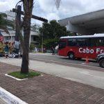 ACIDENTE  Carro e moto se envolvem em acidente no Centro de Cabo Frio
