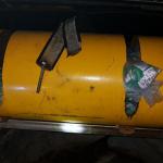 AÇÕES POLICIAIS – Motorista é detido na RJ-106, em São Pedro da Aldeia, com droga escondida em cilindro de gás