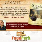 EVENTO – FoodPark recebe escritor Renato Fulgoni em noite de autógrafo