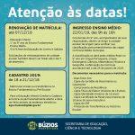 BÚZIOS – Matrículas abertas para a rede municipal de ensino de Búzios