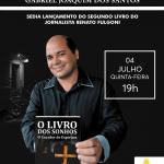 CASA DA CULTURA SEDIA LANÇAMENTO DO SEGUNDO LIVRO DO JORNALISTA RENATO FULGONI