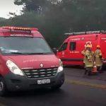 ACIDENTE – Colisão entre duas motos e um carro deixa três feridos em Cabo Frio