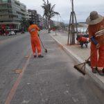 CABO FRIO  – Prefeitura prepara esquema especial de limpeza para alta temporada