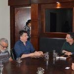SÃO PEDRO DA ALDEIA – Prefeito Cláudio Chumbinho recebe deputado federal Felício Laterça