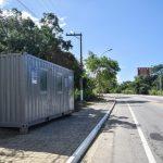 Prefeitura de Búzios começa instalação de containers nas barreiras