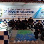 Policiais do 25º BPM apreendem 1200 cápsulas de cocaína no bairro Maria Joaquina