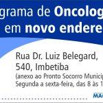 Programa de Oncologia de Macaé ganha novo endereço