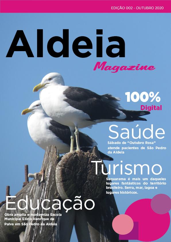 Aldeia Magazine, edição 02, 1ª quinzena de outubro 2020